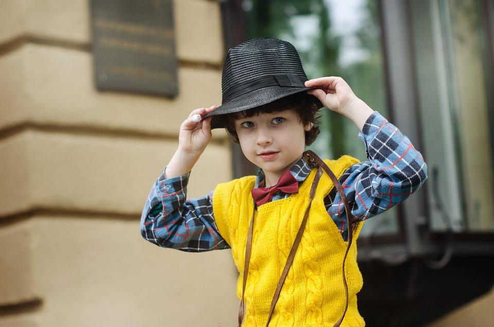 Boy, Kids, Hat, Kid, Child, Shirt, Vest