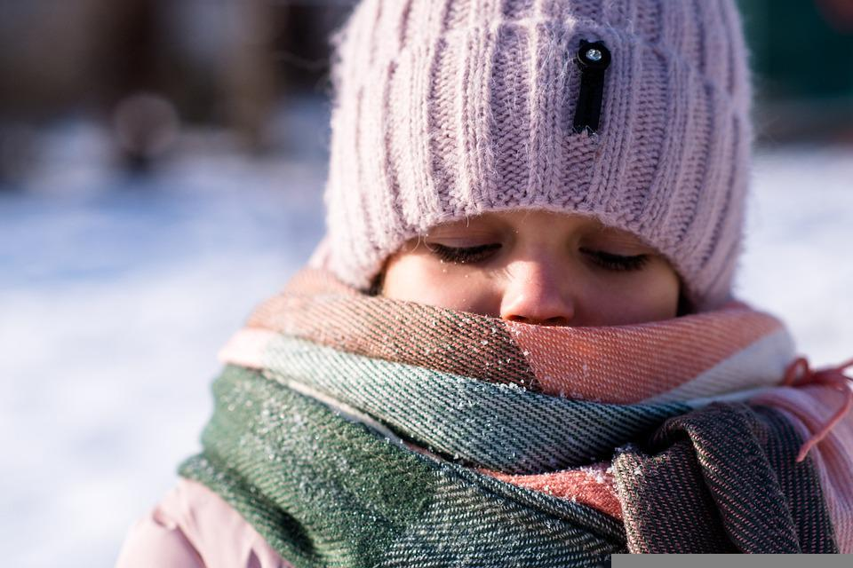 Child, Girl, Winter, Fashion, Hat, Scarf, Cold, Kid