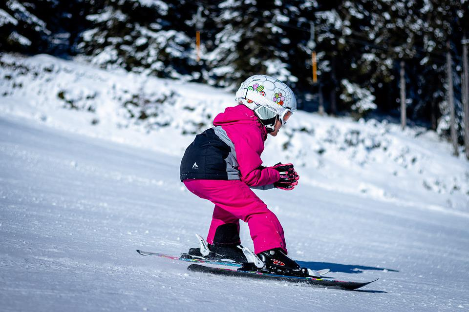 Skiing, Child, Sporty, Winter Sports, Young, Winter