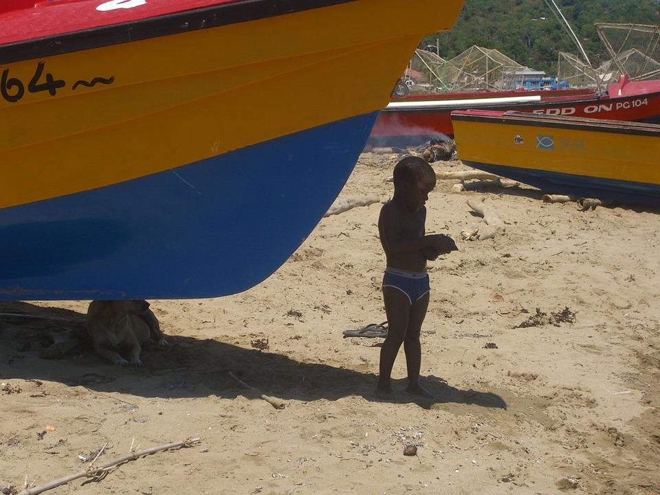 Child, Boat, Sand, Beach, Childhood, Kid, Young, Boy