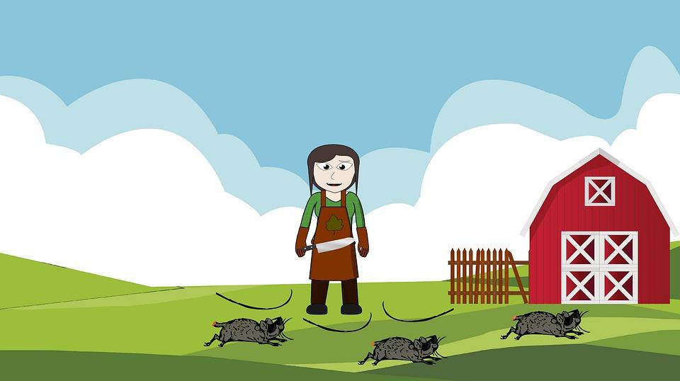 Cartoon, Rhyme, Nursery, Children, Childhood, Mice