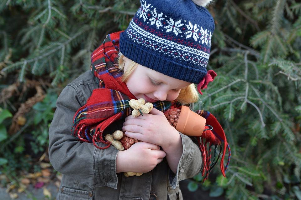 Children, Hugging, Grandchildren, A Small Child