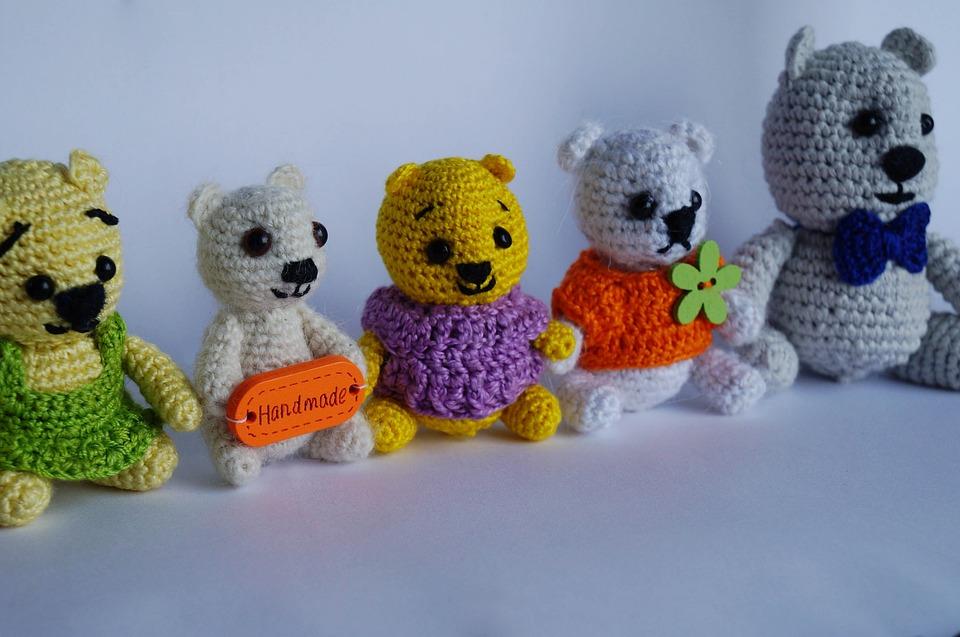 Toy, Bear, Children, Baby, Teddy-bear, Childhood