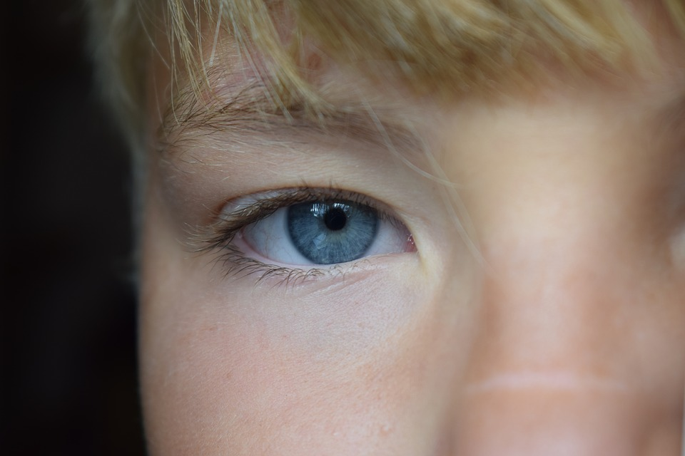 Eye, Blue, Person, Face, Closeup, Eyes, Boy, Children
