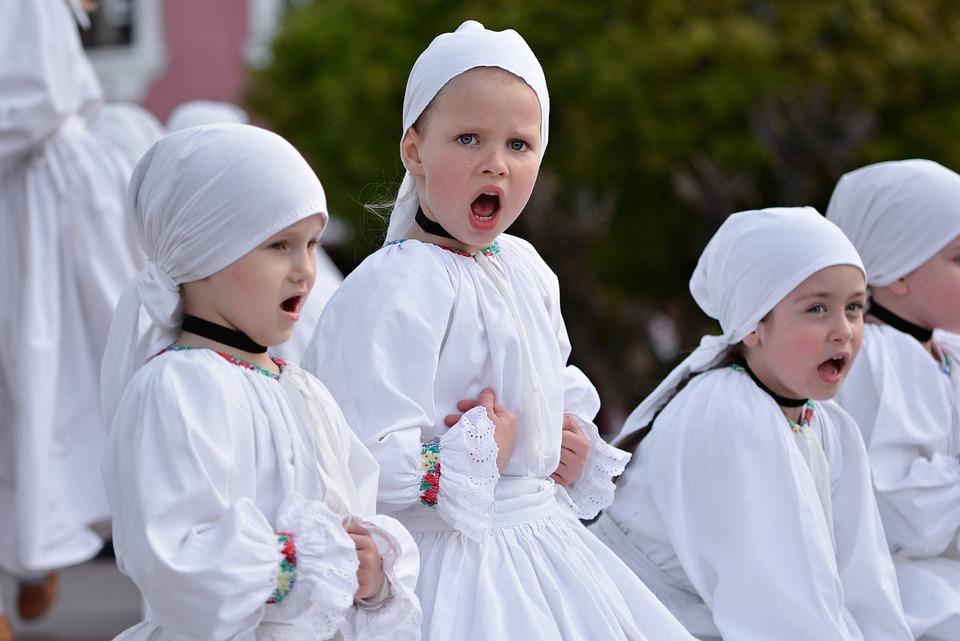 Folklore, Children, Vocal, Chor