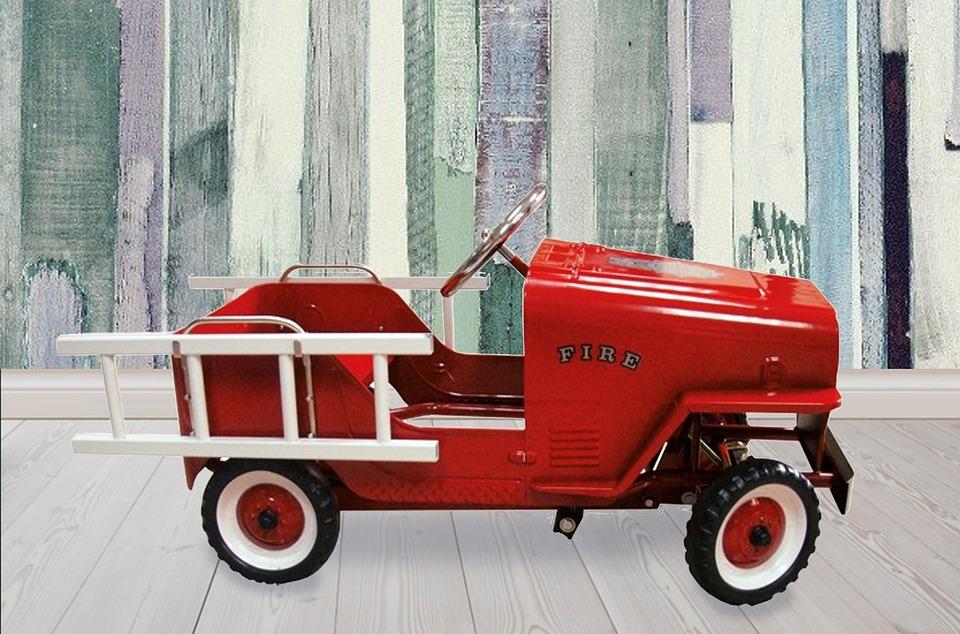 Digital Background, Pedal Car, Children, Nursery