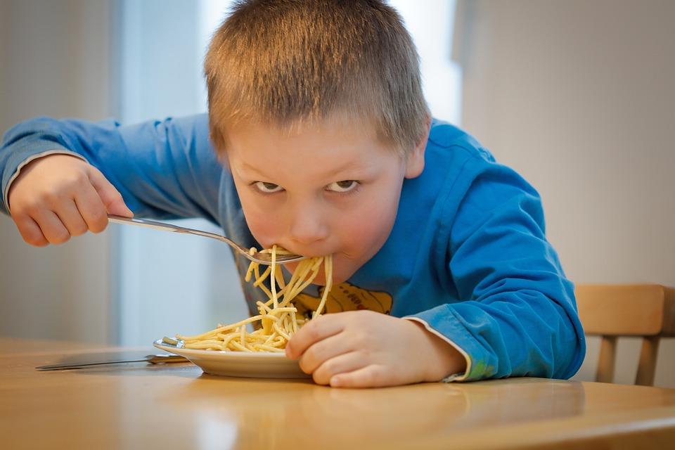 Eat, Noodles, Children, Pasta, Spaghetti, Italian, Food