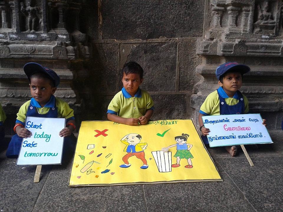 Kids, Children, Ecology, Picket
