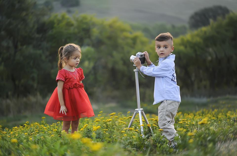 Photographer, Taking Pictures, Fashion, Children