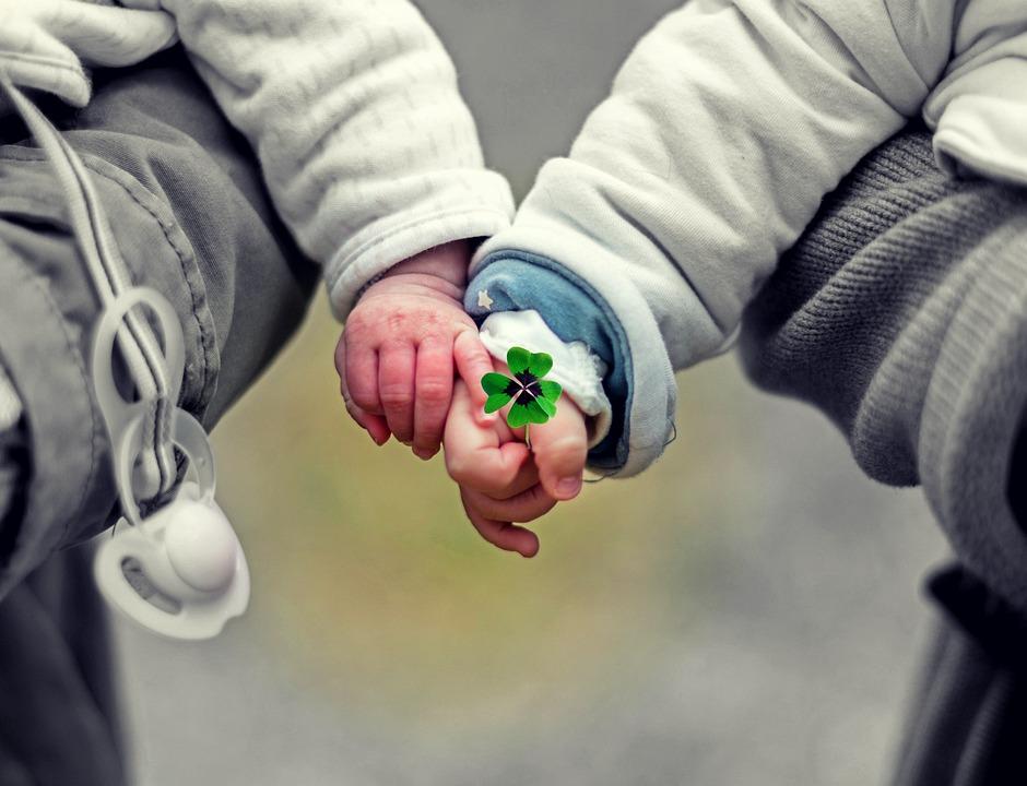 Babies, Children, Hands, Friends, Affection, Love, Cute