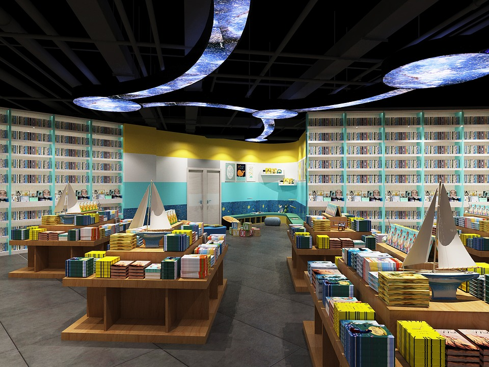 Children Go, Design, Bookstore