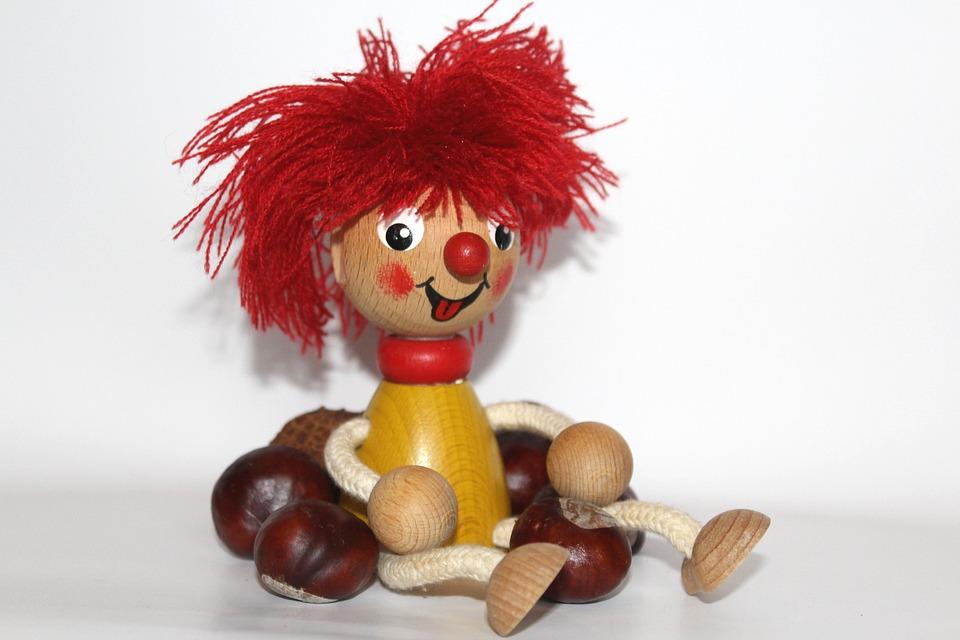 Pumuckl, Children, Funny, Toys, Fun, Fig, Holzfigur