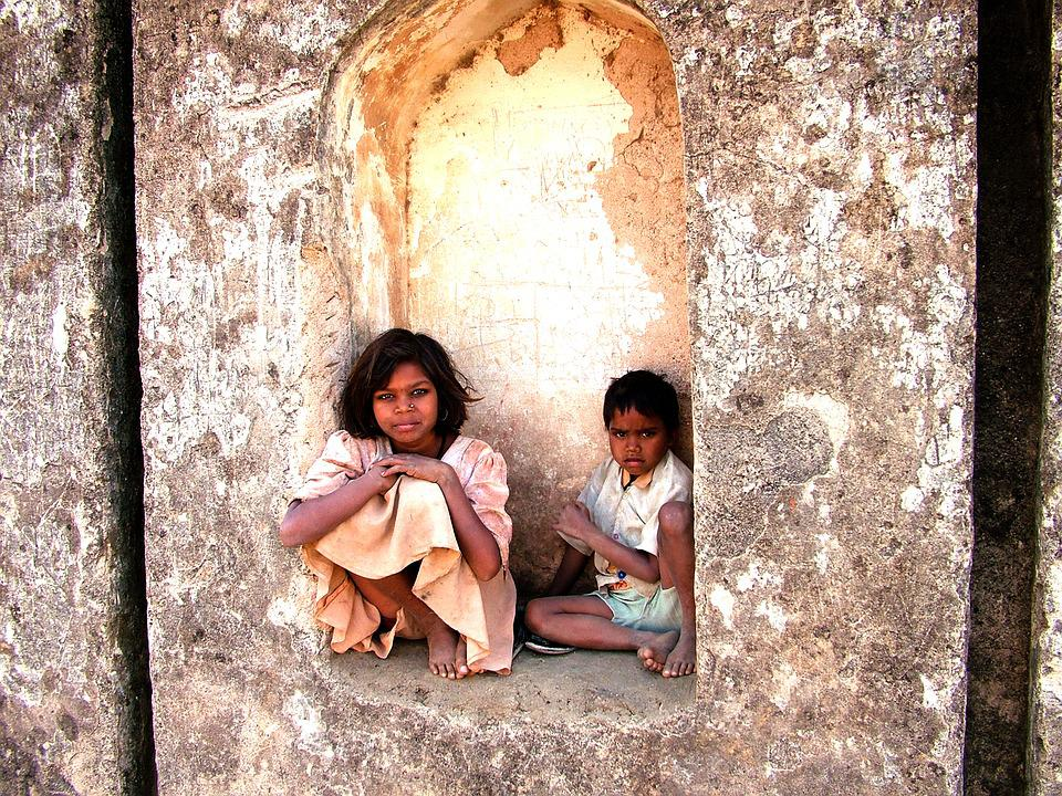 Children, Siblings, Indian, India, Observation