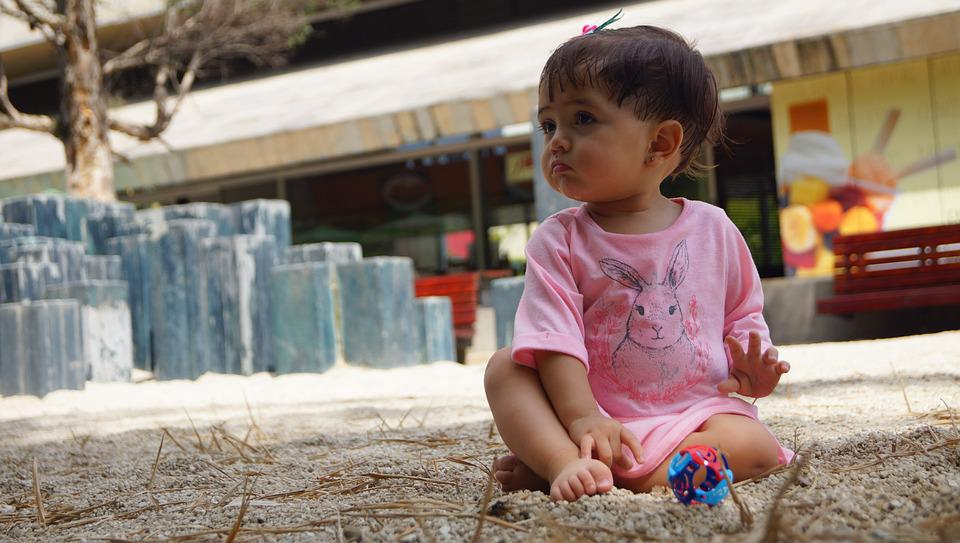 Child, Girl, Park, Children Playing