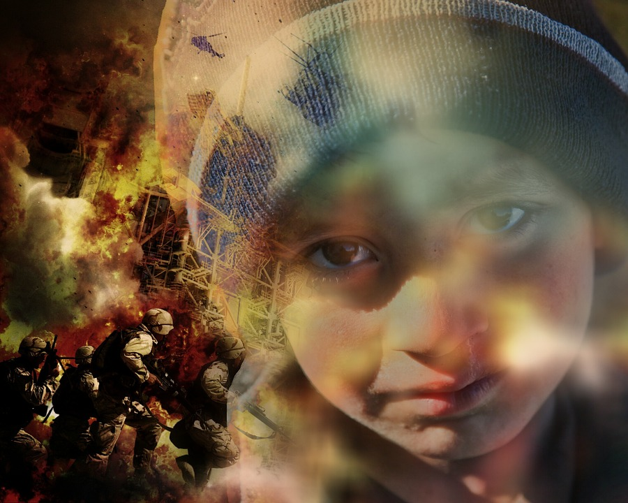 War, Refugees, Children, Help, Suffering, Poverty, Pain