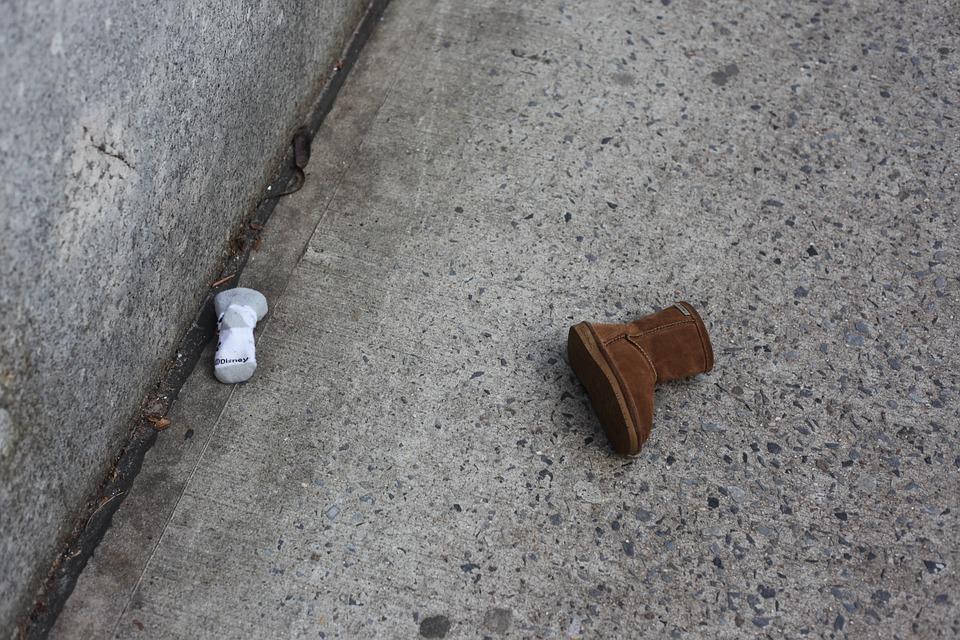 Missing Child, Children, Baby, Small Child, Shoe