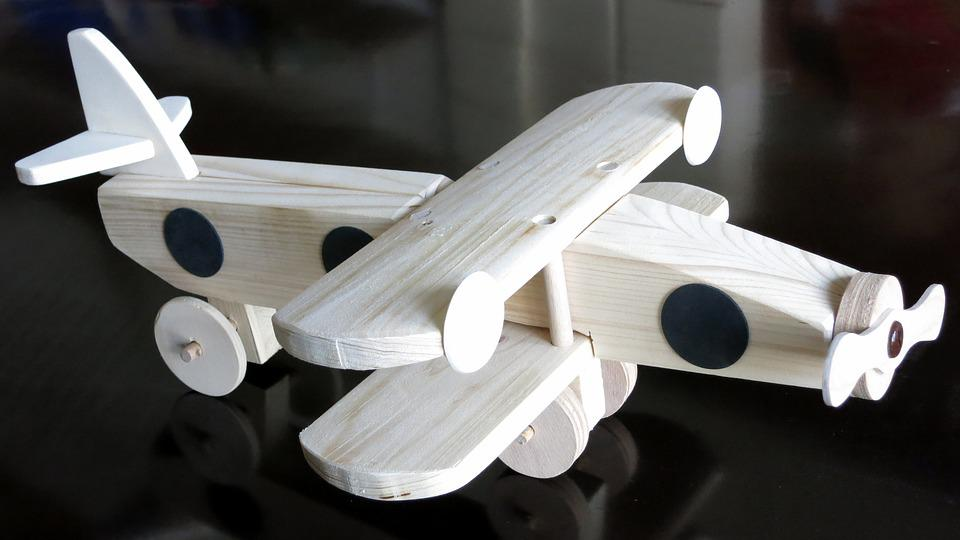 Aircraft, Wood, Toys, Children Toys