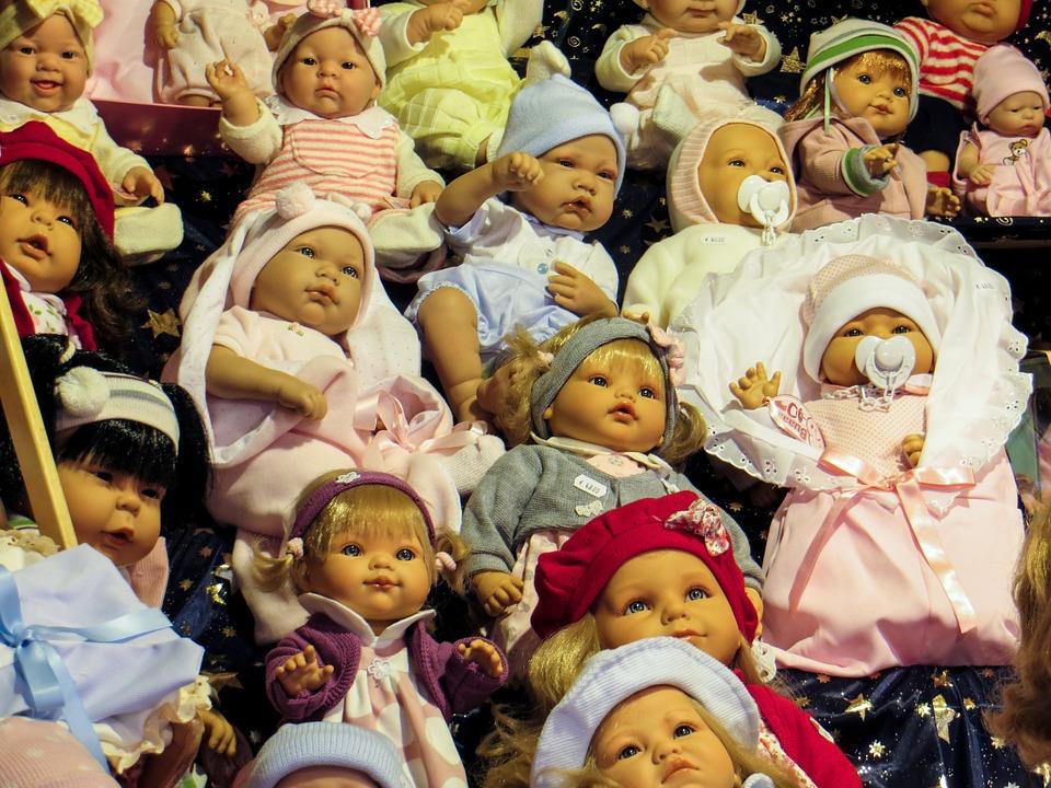 Dolls, Faces, Children, Toys