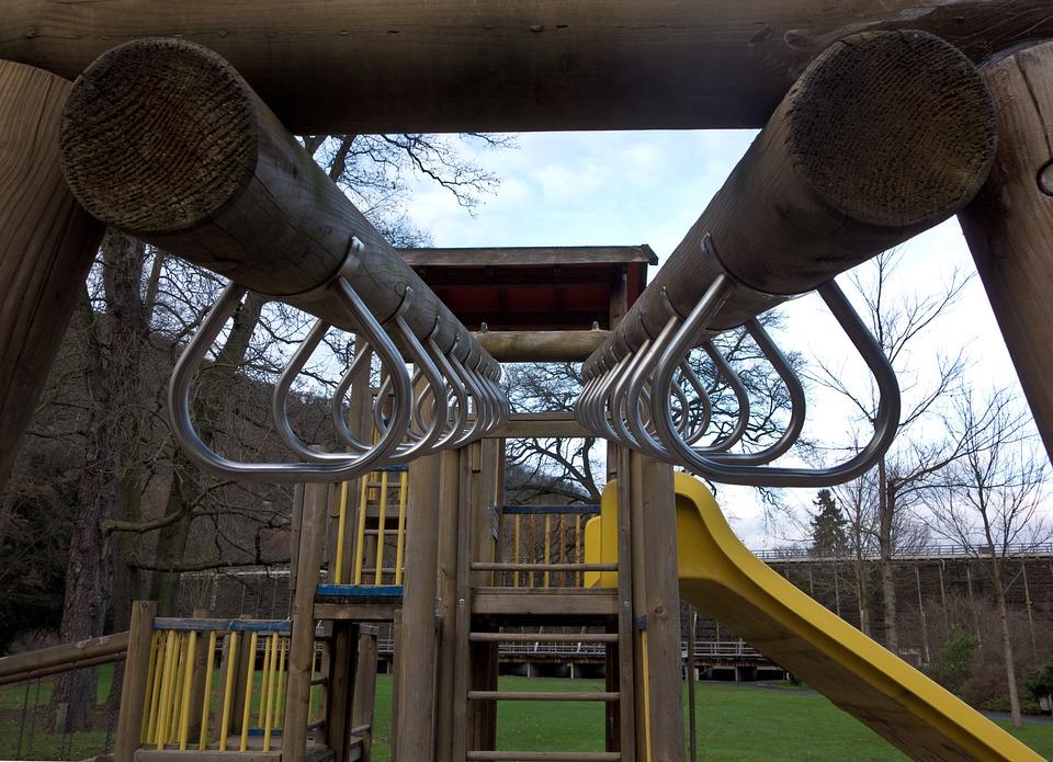 Playground, Gymnastic Equipment, Children's Playground