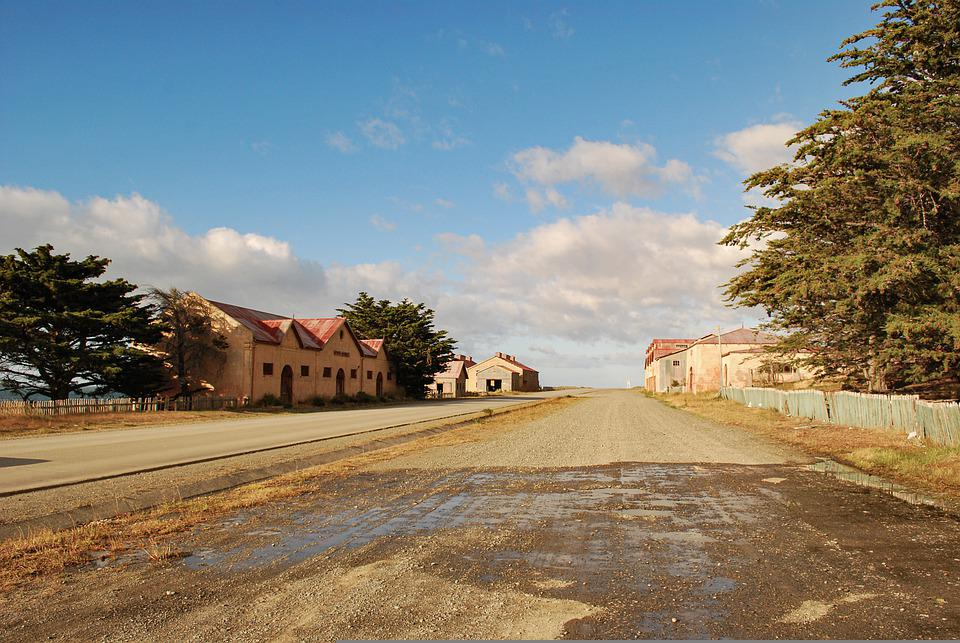 Perspective, Street, Earth, Landscape, Travel, Chile