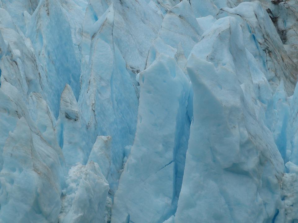 Serranogletscher, Glacier, Chile, South America