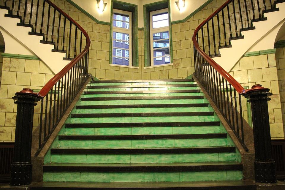 Spiral Staircase, Staircase, Hamburg, Chile House, High