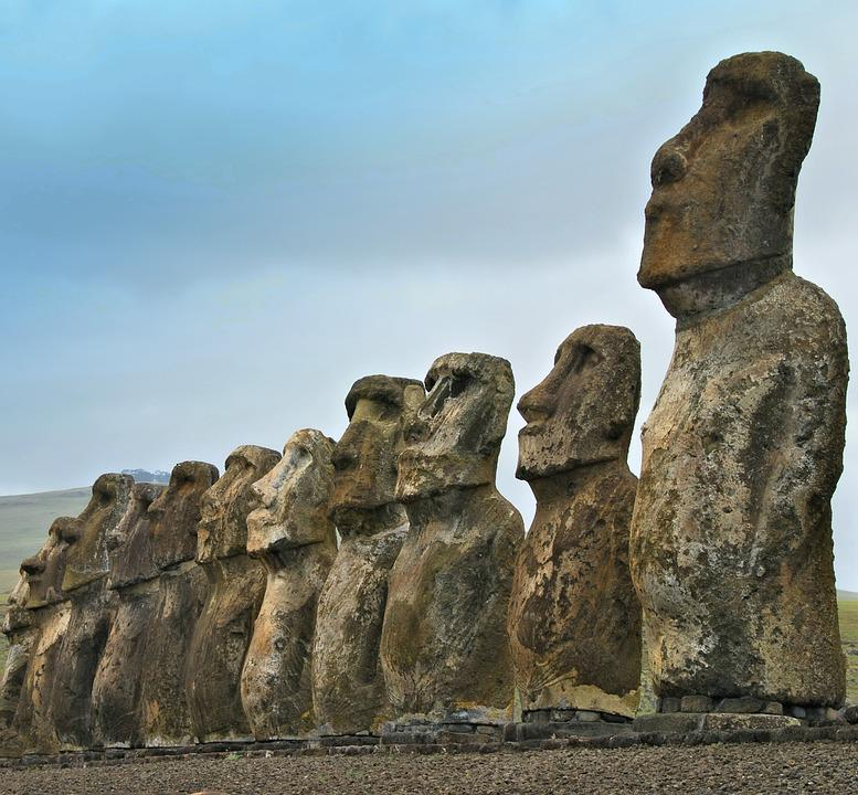 Chile, Easter Island, Rapa Nui, Moai, Travel