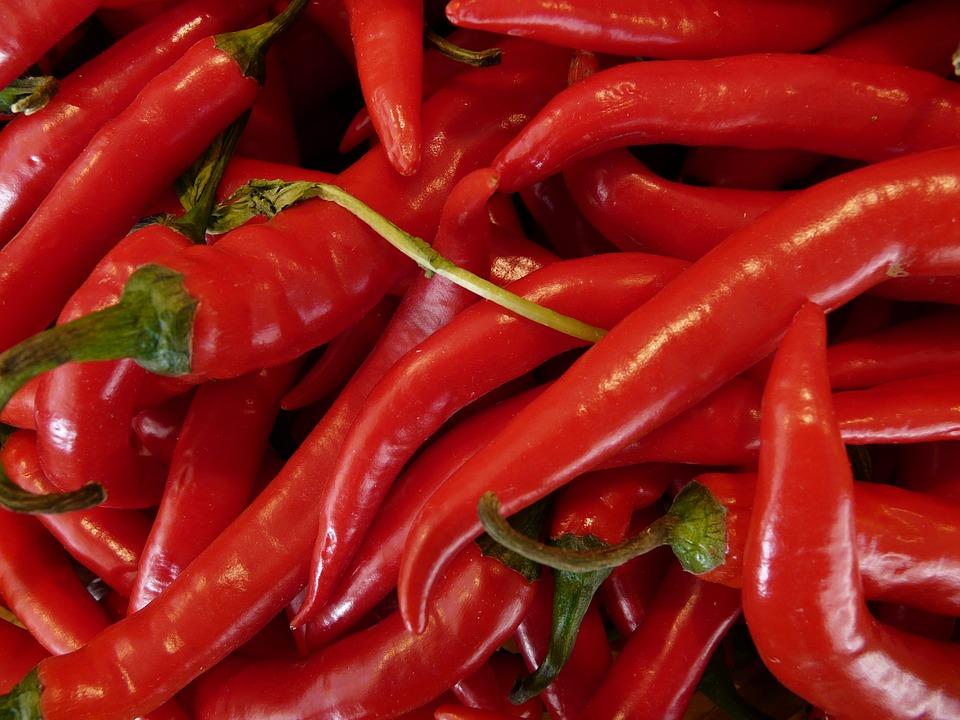 Pepperoni, Chili, Paprika, Capsaicin