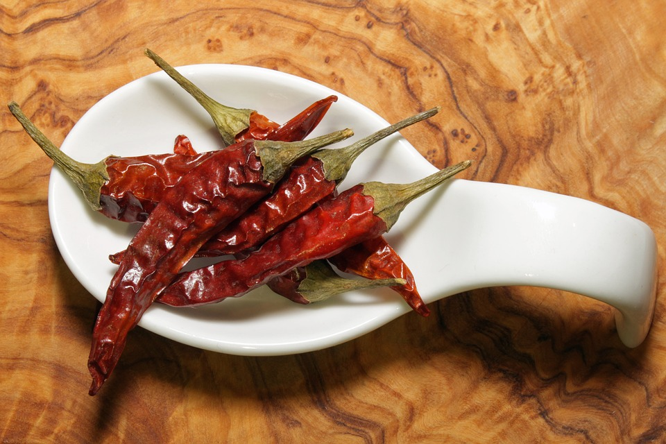Chili, Food, Hot, Pepper, Red, Spicy, Fiery, Spices