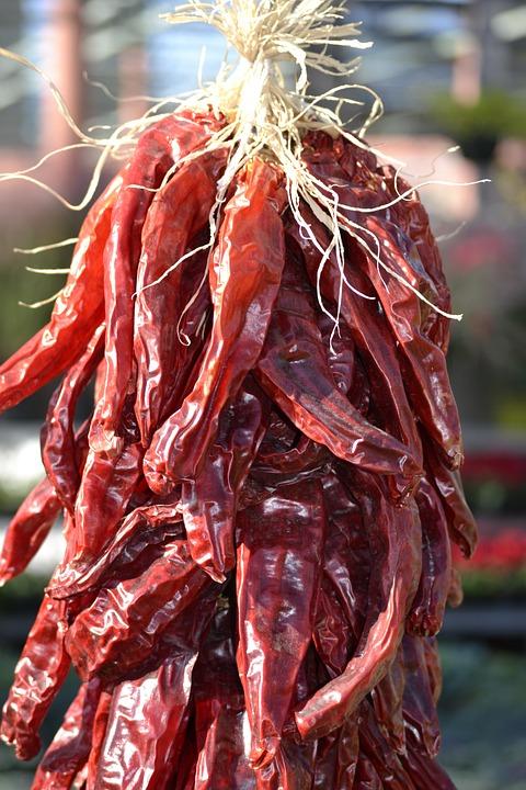 Chili Pepper, Red, Spice
