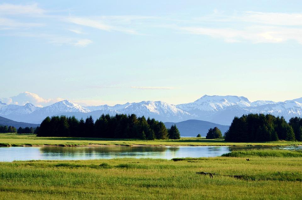 Alaska, Chilkat Mountains, Chilkot Mountains