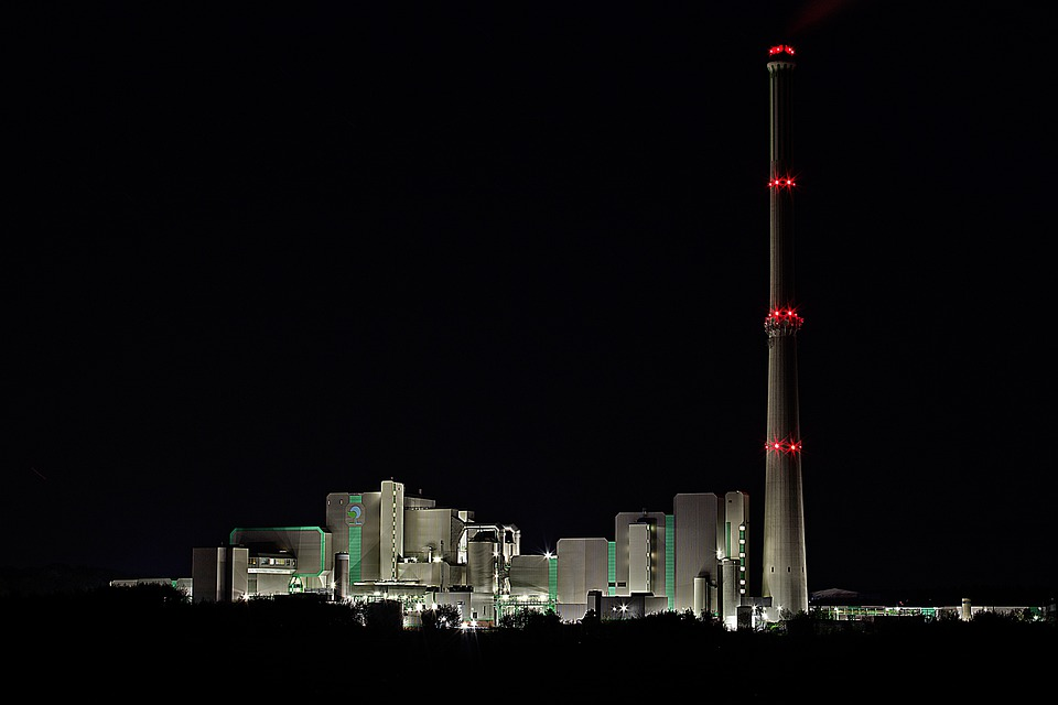 Waste Incineration, Incinerator, Chimney, Exhaust