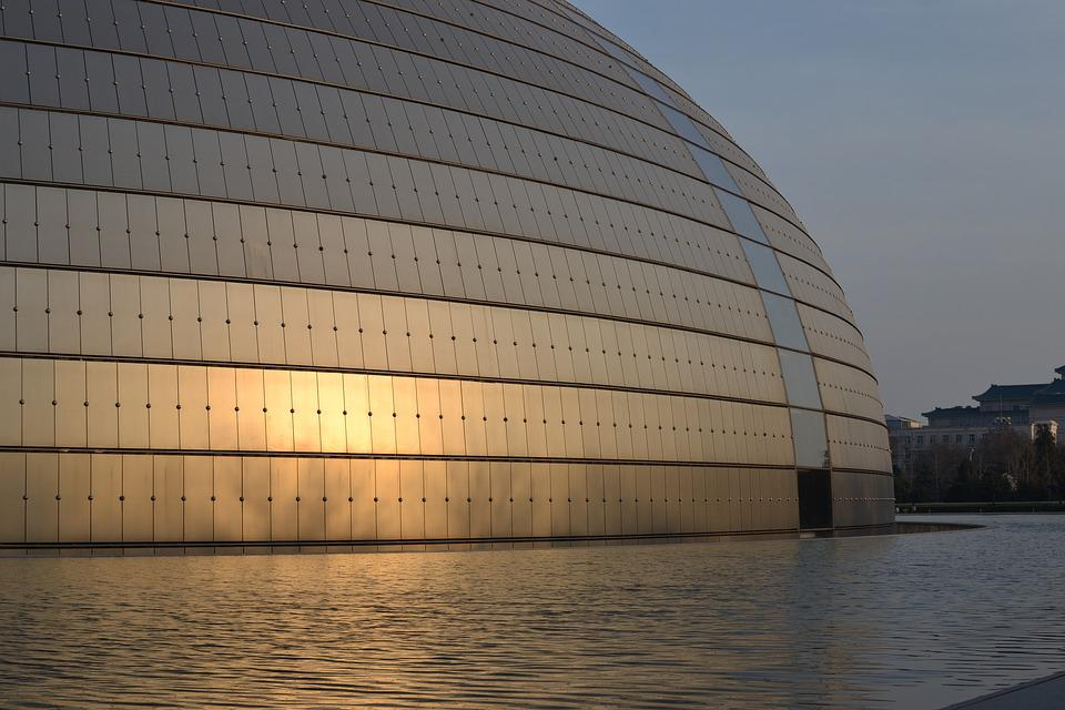 China, Asia, Beijing, Symphony, Architecture