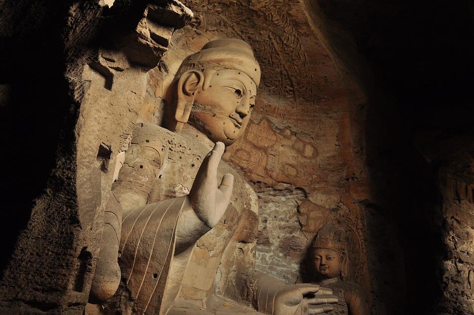 Buddha, Cave, China