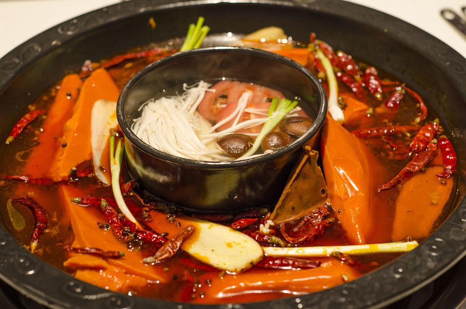 Chengdu, Food, Sichuan, China, Yummy, Hotpot, Dining
