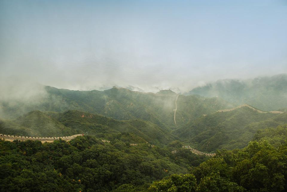 China, The Great Wall, Historical Site