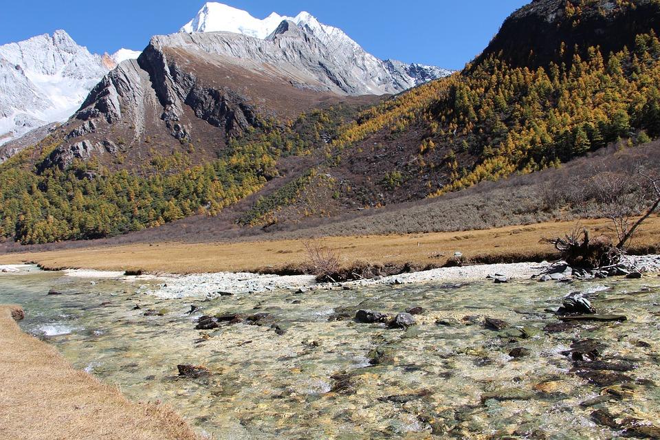 The Scenery, China, Inagi Aden, Running Water