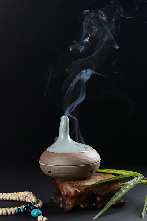Incense, Traditional, Smoke, China, Zen, Meditation