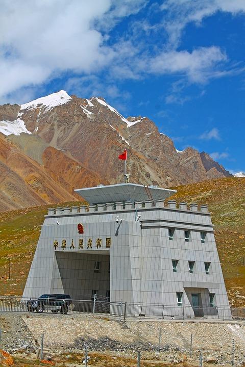 Pakistan, Pass, China, Border, Snow, Karakoram, Road
