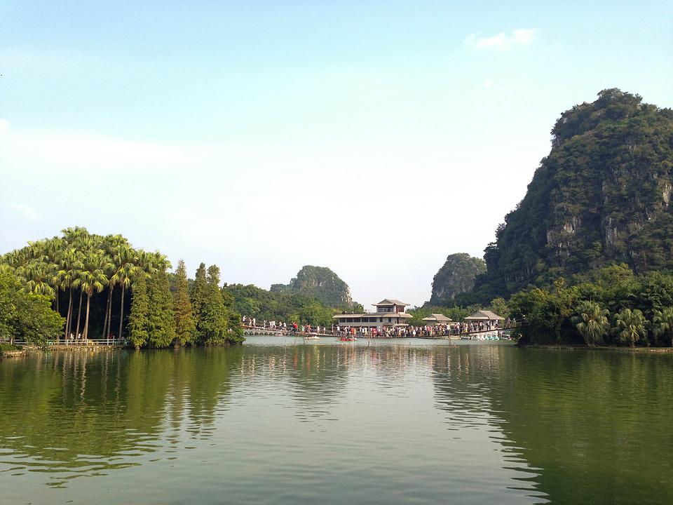 The Scenery, China, Zhaoqing, Seven Star Crags