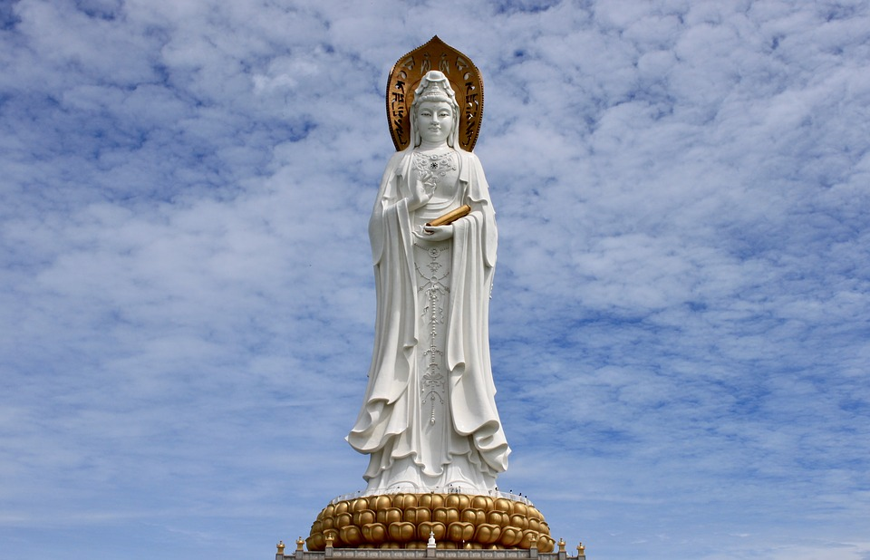 Statue, Monument, China, Places Of Interest, Woman