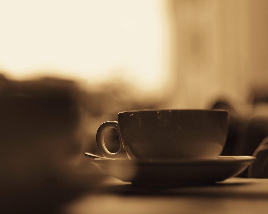 Cafe, Coffee, Tea, Vintage, Drink, Cup, Mug, China