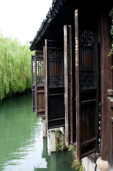 Wuzhen, Building, Ancient Architecture, China Wind