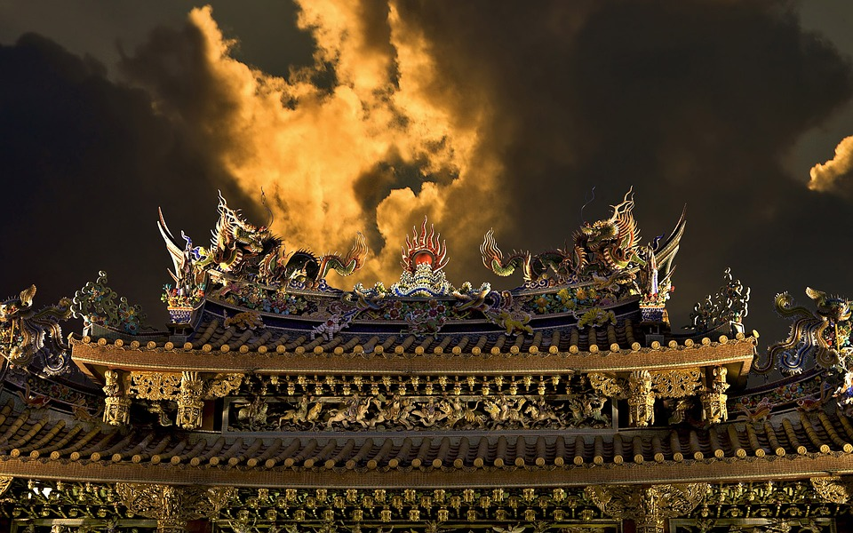 Chinese Architecture, Chinese Decoration