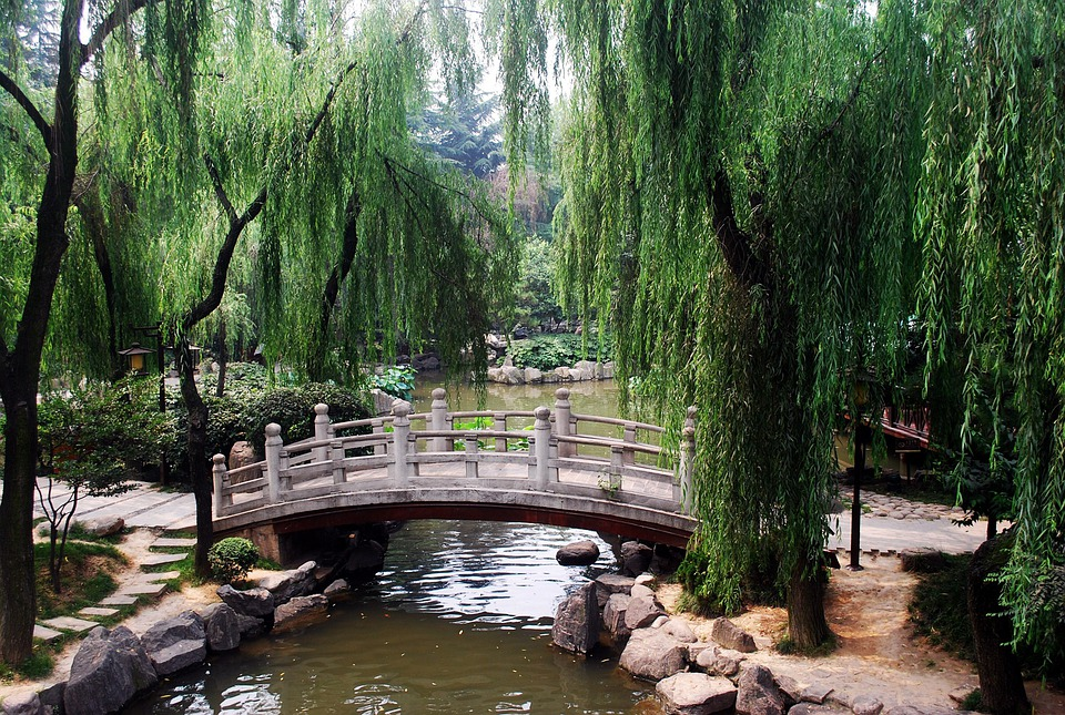 Free photo Chinese Asian Arched Bridge Arch Garden Park - Max Pixel