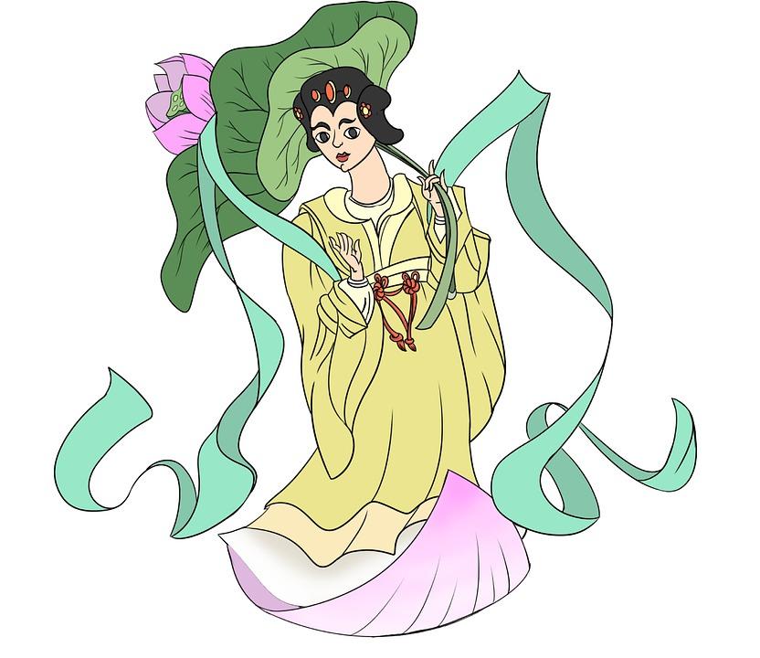 He Xiangu, Chinese, Mythological, Eight, Immortals