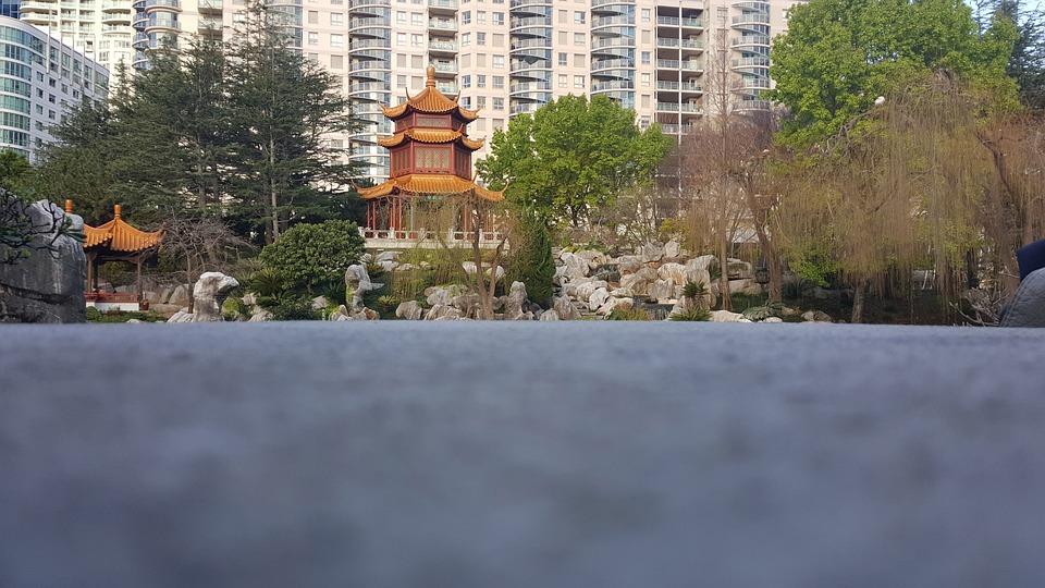 China, Chinese Garden, Architecture, Garden, Chinese