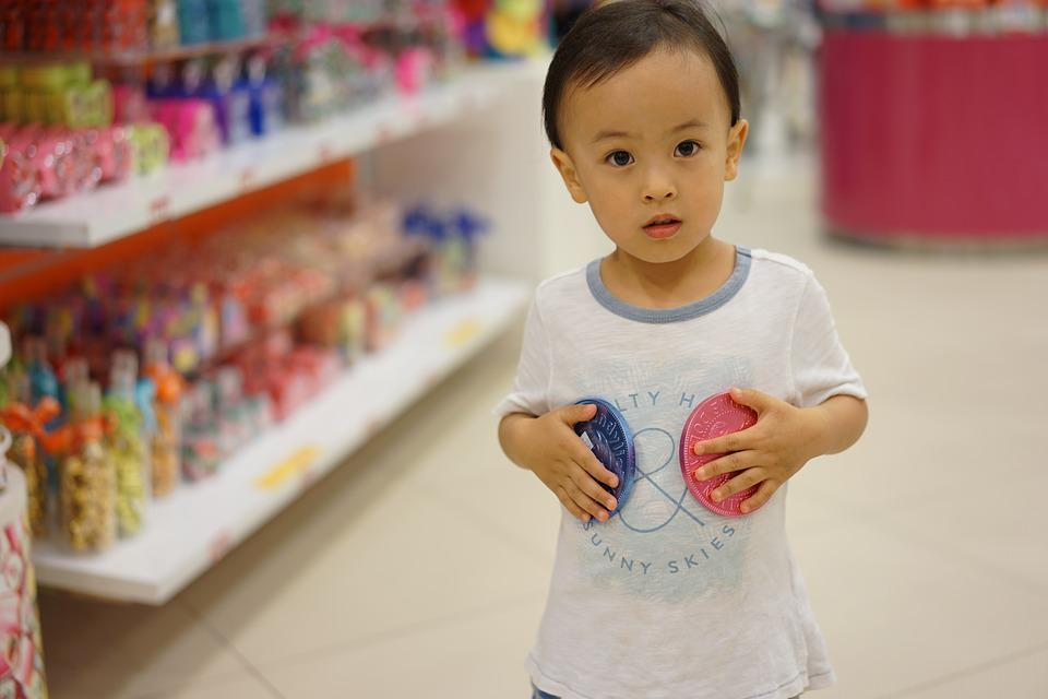 Child, Compact, Cute, Indoors, Candy Shop, Chinese