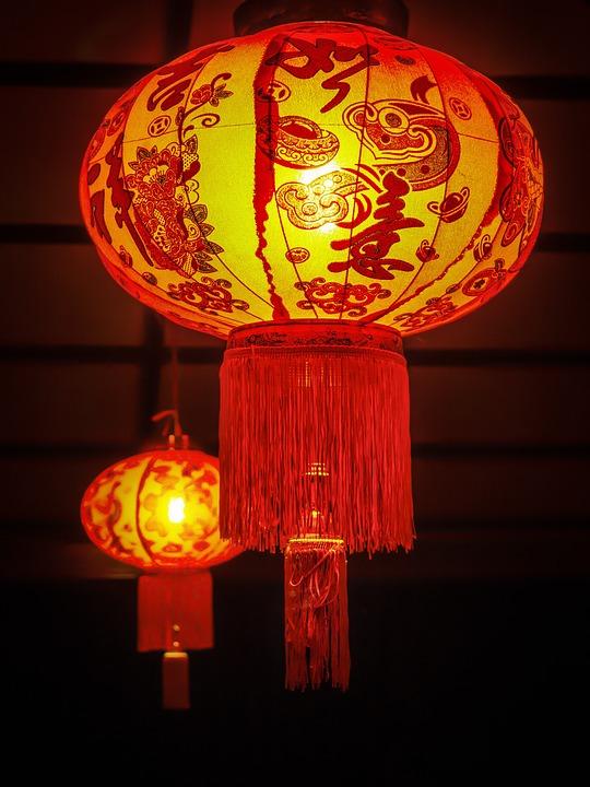 Chinese New Year, Lantern, Night, Celebration, China