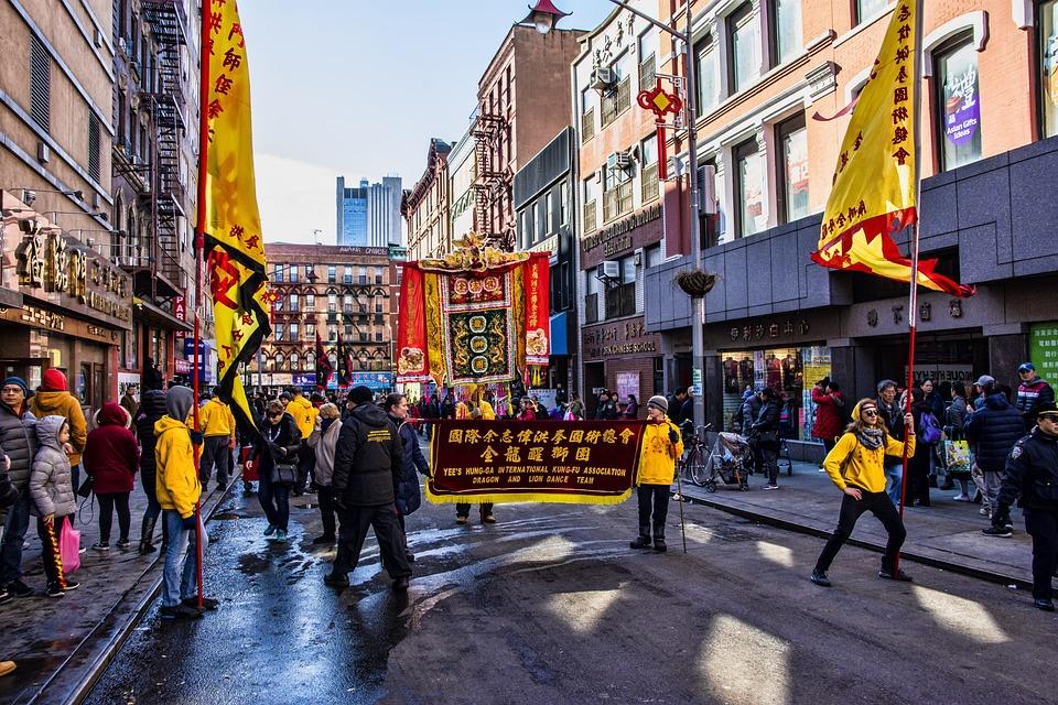 Chinatown, New Years, Chinese, New York, Manhattan